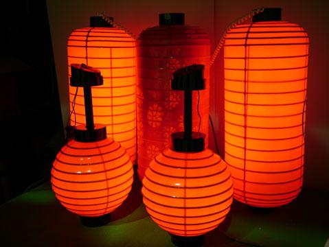 オーダーメイド提灯製作~屋外用赤提灯